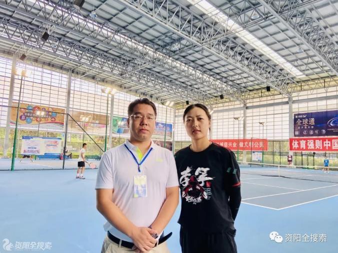 2020年四川省青少年网球锦标赛在资阳拉开帷幕